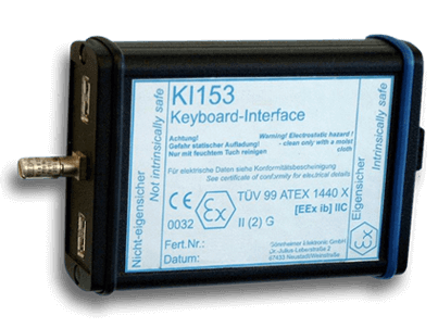 Gönnheimer KI153 ATEX keyboard interface